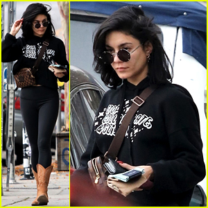 Vanessa Hudgens Steps Out for Last Minute Holiday Shopping