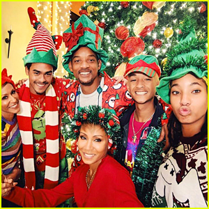 Will Smith & His Family Share Festive Christmas Photos!