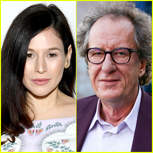 Think, that Geoffrey rush head shaved