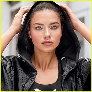 Adriana Lima Is the Face of Puma x Maybelline Makeup Collection!