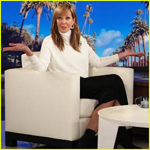 Allison Janney Tells 'Ellen' She's On The Hunt for Mystery 'Hotpants' Man