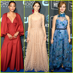 Amandla Stenberg, Thomasin McKenzie, & Millicent Simmonds Rep Young Hollywood at Critics' Choice Awards!