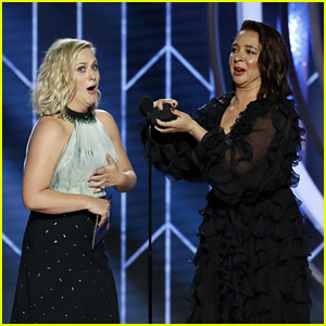 Maya Rudolph Hilariously Proposes to Amy Poehler at Golden Globes 2019!