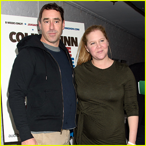 Pregnant Amy Schumer & Husband Chris Fischer Attend 'Red State Blue State' Opening Night