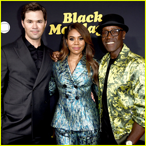 Andrew Rannells, Regina Hall & Don Cheadle Celebrate 'Black Monday' Premiere - Watch Trailer!
