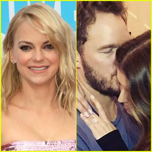 Anna Faris Reacts to Chris Pratt's Engagement to Katherine Schwarzenegger