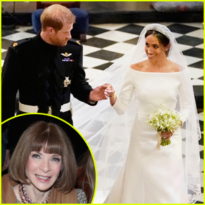 Anna Wintour Gives Her Opinion on Meghan Markle's Wedding Dress