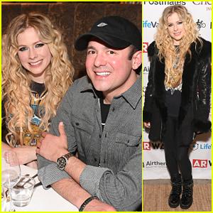Avril Lavigne & Boyfriend Phillip Sarofim Couple Up at ChefDance