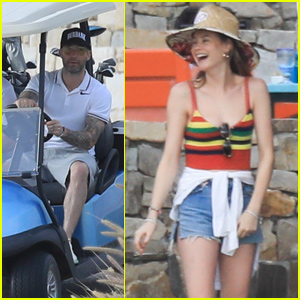 Behati Prinsloo & Adam Levine Couple Up For Cabo San Lucas Vacation!