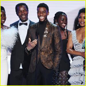 'Black Panther' Wins Best Movie Cast at SAG Awards 2019!