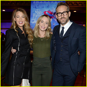 Blake Lively & Ryan Reynolds Host Special Screening of Emily Blunt's 'Mary Poppins Returns'