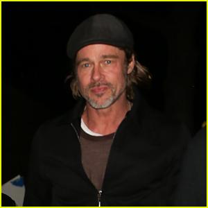 Brad Pitt Enjoys a Night Out on the Town