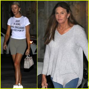 Caitlyn Jenner & Sophia Hutchins Grab Dinner in Malibu After Indonesia Trip!