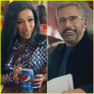 Cardi B & Steve Carell Tease Upcoming Pepsi Super Bowl 2019 Commercials - Watch!