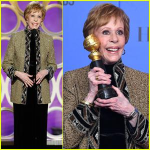 Carol Burnett Reflects on Her Career in Golden Globes 2019 Speech