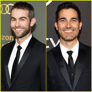 Chace Crawford & Tyler Hoechlin Are Studs at Golden Globes After Parties!
