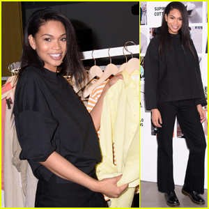 Chanel Iman Attends UNIQLO Spring/Summer 2019 Collection Launch in NYC