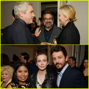 Charlize Theron & Diego Luna Celebrate 'Roma' at Tastemakers Event