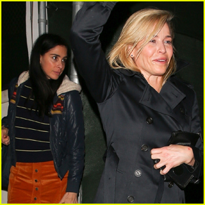 Chelsea Handler Grabs Dinner with Sarah Silverman in WeHo!