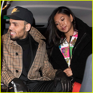Chris Brown Emerges in Paris with Ammika Harris After Arrest