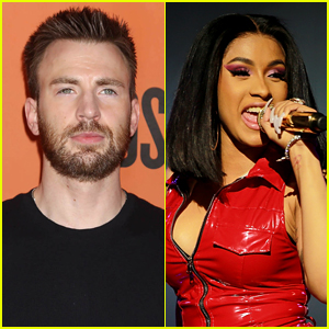 Chris Evans Praises Cardi B for Speaking Out About Trump & Government Shutdown
