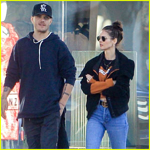 Chris Zylka Grabs Juice With Tiffany Brouwer in LA!