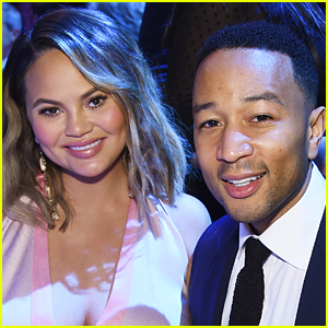Chrissy Teigen Has Twitter Choose Son Miles' Tuxedo for John Legend's Party!