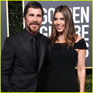 Christian Bale is Supported by Wife Sibi at Golden Globes 2019!