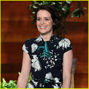 Claire Foy Gets a Scare From 'The Queen' on 'Ellen' - Watch Now!
