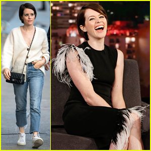 Claire Foy Tells 'Kimmel' She