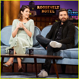 Cobie Smulders & Sebastian Stan Dodge 'Avengers' Theories on 'Late Late Show' - Watch Here!