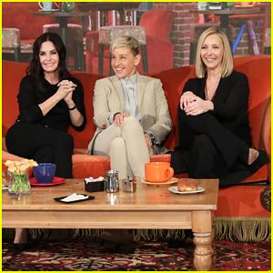 Courteney Cox Gets Surprise Mini 'Friends' Reunion on 'Ellen'!