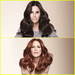 Courteney Cox, Julianne Moore & Amber Heard Partner with L'Oréal Paris for New Beauty Campaign!