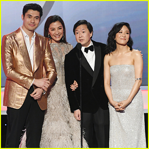 Henry Golding, Michelle Yeoh, & 'Crazy Rich Asians' Cast Dress to Impress at SAG Awards 2019!
