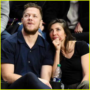 Dan Reynolds & Wife Aja Cozy Up at Clippers Game After Announcing Reconciliation!