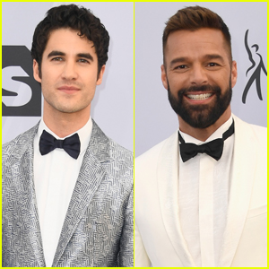 Darren Criss & Ricky Martin Are Two Dapper Dudes at SAG Awards 2019