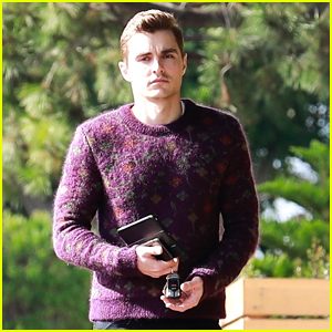 Dave Franco Dons Colorful Sweater for Los Feliz Lunch Outing