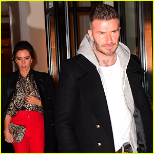 David & Victoria Beckham Couple Up for Dinner Date in NYC