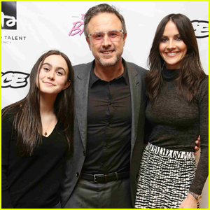 David Arquette is Joined by Daughter Coco & Wife Christina McLarty at 'The Big Break' Screening!