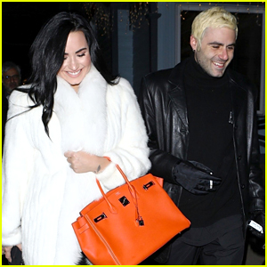 Demi Lovato & Boyfriend Henry Levy Look So Happy on New Year's Day