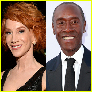 Kathy Griffin & Don Cheadle Publicly Make Up After Twitter Feud