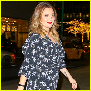 Drew Barrymore Looks Gorgeous Stepping out in the Big Apple