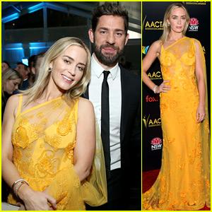 Emily Blunt & John Krasinski Are Totally the Awards Season Power Couple This Year!