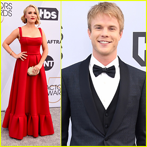 Graham Rogers & Emily Osment Bring 'Kominsky Method' To SAG Awards 2019