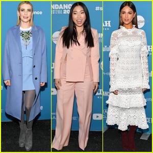 Emma Roberts, Awkwafina, & Eiza Gonzalez Premiere 'Paradise Hills' at Sundance Film Festival 2019