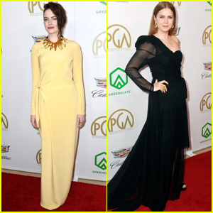 Emma Stone & Amy Adams Go Glam for Producers Guild Awards 2019