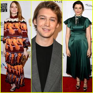 Emma Stone, Joe Alwyn, & Rachel Weisz Reunite for BAFTA Tea Party!