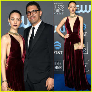Emmy Rossum Couples Up With Husband Sam Esmail at Critics' Choice Awards 2019!
