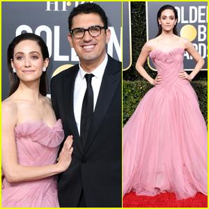 Emmy Rossum Has a Princess Moment at Golden Globes 2019!
