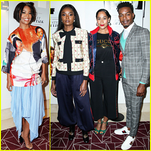 Gabrielle Union & Tracee Ellis Ross Support 'If Beale Street Could Talk' Cast at WeHo Screening!